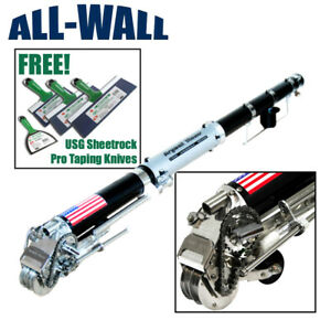 Drywall Master King Pro Automatic Taper Taping Tool Free Usg Taping Knife Set