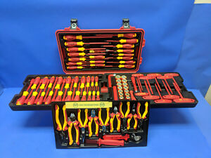 80 Piece Wiha 32800 Insulated Tool Kit Sockets Screwdrivers Wrenches Drivers