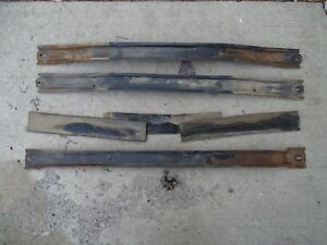1960 1961 60 61 Chevy Pickup Apache Suburban Panel Wagon Hood Support Bar Braces