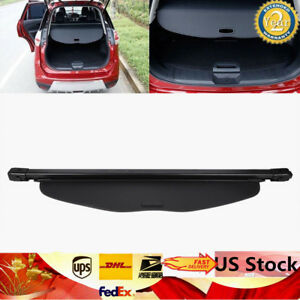 Retractable Trunk Cargo Cover Security Fit 14 18 Nissan Rogue Or X trail Models