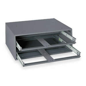 Durham Drawer Cabinet Frame 2 Drawers gray 302 95 Gray