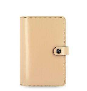 Filofax A6 Size Original Diary Notebook Nude Leather Planner Organiser 022386