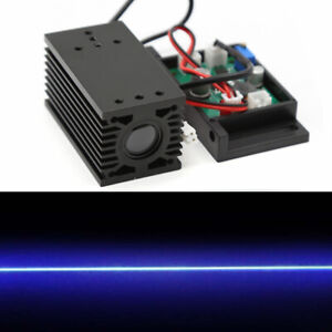 Focusable High Power 2w 450nm 445nm Blue Laser Module With Ttl 12v Wood Carving