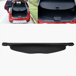 Retractable Trunk Cargo Cover Security Fit 14 18 Nissan Rogue Sv Or X trail Usa