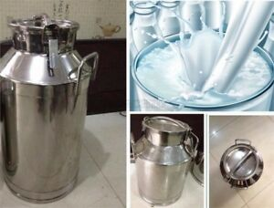 Stainless Steel 40l Milk Pail Brand New Good Quality Ax