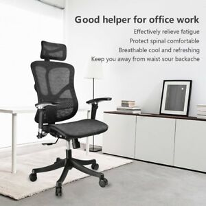 Argomax Em ec001 Mesh Office Chair Ergonomic Fully Adjust Free Ship Miller Aeron