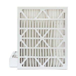 20x24x4 Merv 13 Pleated Ac Furnace Air Filters 2 Pack actual Depth 3 3 4