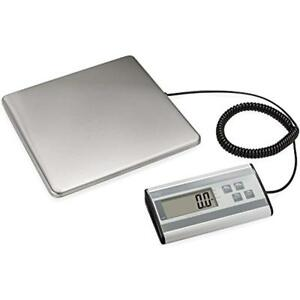Digital Heavy Duty Shipping Postal Scale Durable Stainless Steel Large Platform