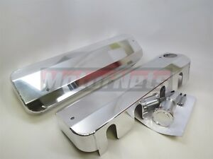 Ls1 Ls2 Ls3 Fabricated Polished Aluminum Ignition Coil Covers Gm Chevy Fill Neck