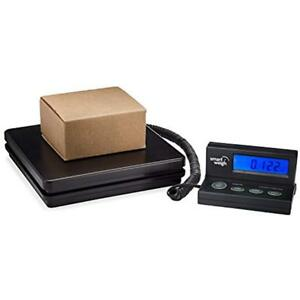 Digital Shipping Postal Weight Scale 110 Lbs X 0 1 Oz Ups Usps Office