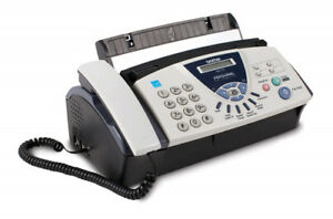 New Brother Fax 575 Personal Fax Phone Copier Plain Paper