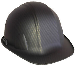 Hard Hat Sl Series Satin Tinted Carbon Fiber Hydro Dipped