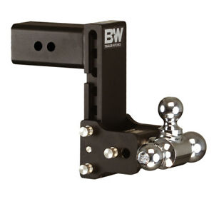 B w Tow And Stow Model 10 Hitch Ball Mount 3 Shank Tri ball Ts30049b