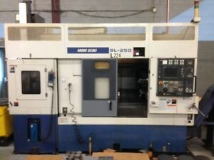 Mori Seiki Cnc Lathe Sl250bsmc Robot Sub Spindle Live Tools Must See Condition