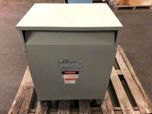Jefferson Electric 25kva General Purpose Transformer 240 480v 120 240v 1 phase