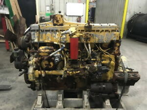 Caterpillar 3406a 350hp Diesel Engine Tested Running Complete