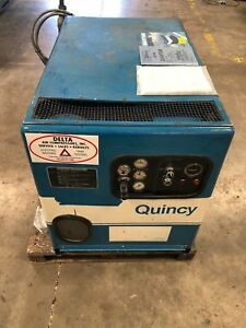Quincy Quantum 10 H p Rotary Screw Air Compressor gmt 1660