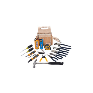 Ideal 35 800 Electrician s Tool Set W pouch 16 piece