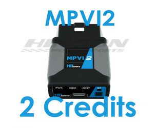 Hp Tuners Mpvi2 Tuner W 2 Universal Credits In Stock With Free Shipping