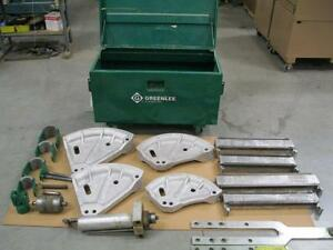 Used Greenlee 881 Conduit Bender 2 1 2 Thru 4 Rigid Emt
