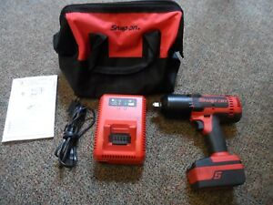 Snap On 18v Lithium Impact Wrench W battery And Charger Ct8850 excellent
