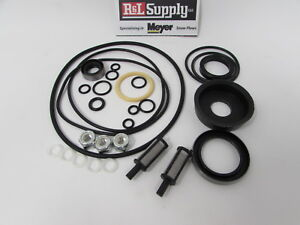Meyer Snow Plow Pump E50 V66 E60 E60 H E61 H Basic Seal Kit W Filters 15707