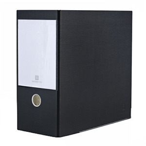 Bindertek 3 ring 5 inch Premium High Capacity Binders Black 3xxln bk