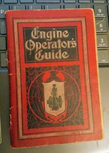 1910 Ihc Engine Operators Guide Original