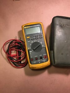 Fluke 87 V True Rms Digital Multimeter passes Fluke Performance Verification