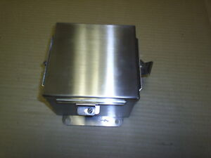 Hoffman A606nfss Electrical Junction Box 6 x6 x4 Stainless Wall Mount New