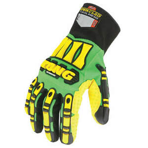 Ironclad Cut Resistant Gloves yellow green l pr Sdxc 04 l Green Yellow