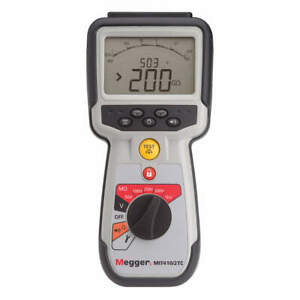 Megger Battery Operated Megohmmeter 1000vdc Mit410 2