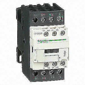 Schneider Electric Iec Magnetic Contactor 120v Coil 40a Lc1d258g7