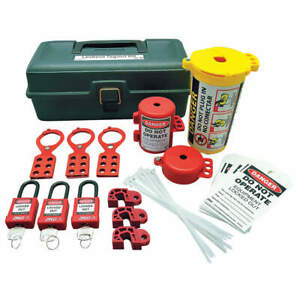 Portable Lockout Kit electrical tool Box 7129
