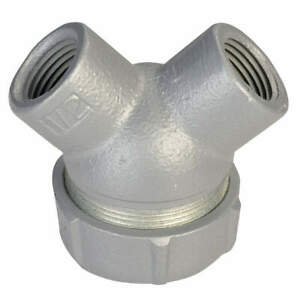 Appleton Electric Capped Elbow haz Loc 1 2 In Hub aluminum Elby 50a