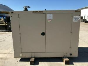 _130 Kw Katolight Generator Set Sound Attenuated 12 Lead Reconnectable