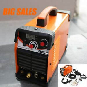 Ct520d Plasma Cutter Tig mma Stick Welder Dual Voltage 3in1 Air Plasma Cutter Ma