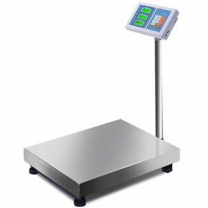 660lbs Weight Computing Platform Scale Digital Display Mailing Postal Shipping