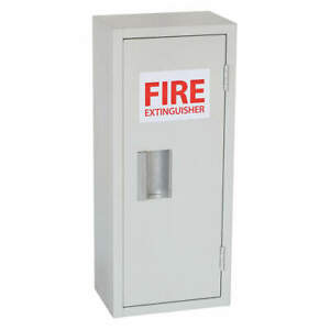 Grainger Approved 35gx43 Fire Extinguisher Cabint 10lb 10 1 16inw