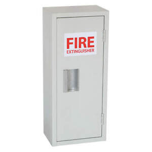 Grainger Approved Fire Extinguisher Cabint 10lb 10 1 16inw 35gx43