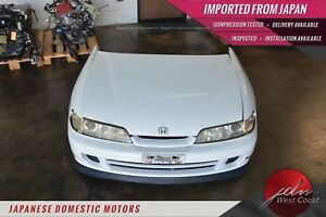 Jdm Honda Integra 94 01 Sir g Front End Nose cut Db8 Hood Bumper Fenders White