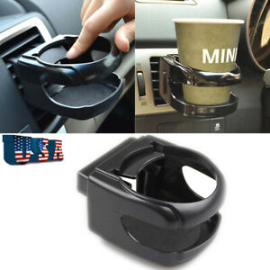 1x Car Vehicle Air Vent Mount Drink Cup Bottle Holder Clip Hot Beverage Bracket