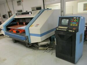 Excellon Mark Vi C 4 Head Drilling Machine With Cnc 6 Control 110k Rpm Spindles