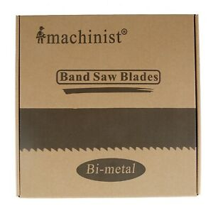 122 X 3 4 X 10 14tpi Imachinist M42 Bi metal Band Saw Blades For Metal Cutting