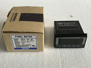 Autonics Digital Panel Meter Mt4y dv 4n free Shipping