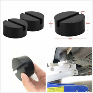 Diy Car Suv Slotted Frame Cradle Rail Hydraulic Floor Jack Disk Rubber Stand Pad