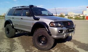 Mitsubishi Montero Pajero Sport Fender Wheel Arch Extensions Set 4 90mm