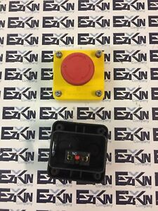 Telemecanique Emo Switch Xen l1121 Push pull Mushroom Red Emergency Stop