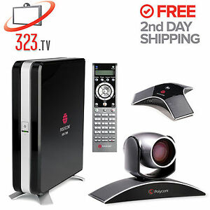 Polycom Hdx 7000 Complete System 1 Year Warranty Free 2nd Day Shipping
