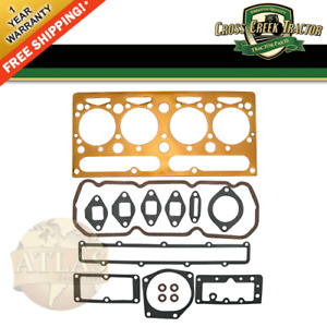 735349m91 New Massey Ferguson Tractor Top Gasket Set 65 165 30 40 50 302